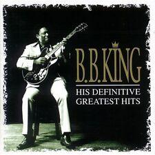 CD B.B. KING HIS DEFINITIVE GREATEST HITS 008811192129