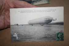 ZEPPELIN IV GOOD FRENCH POSTCARD  ANTIQUE ITEM  OFFERS WELCOME