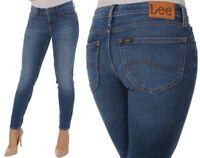 Lee Damen Jeanshose Scarlett Skinny Blau (Blue Drop) W25 - W32