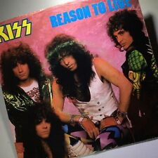 KISS Reasons To Live / Thief In The Night 45 EXCELLENT