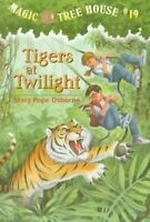 Tigers at Twilight (Magic Tree House, No. 19) by Mary Pope Osborne, Sal Murdocca