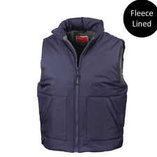Result Unisex RE44A Fleece-lined Bodywarmer Navy Large