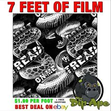 Hydrographic Film Snake Dont Tread On Me Extreme 7x20 Hydro Dipping Dip Ape