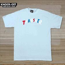 Thrasher Magazine Knock Off Logo Skateboard Shirt Light Blue Medium