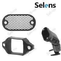 Selens Magnetic Flash Modifier Rubber Band Honeycomb Grid KitFor Flash Speedlite