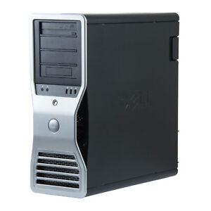 Dell Precision T7500 Workstation 2x Xeon (8-Core) 32GB RAM 4TB HDD Wi-Fi NVIDIA