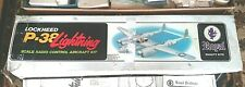 Royal P-38 Lightning Scale Radio Control Aircraft Kit Air Plane Kit - Vintage
