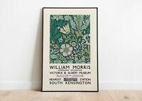 William Morris exhibition Print | William Morris Poster | Wall Decor