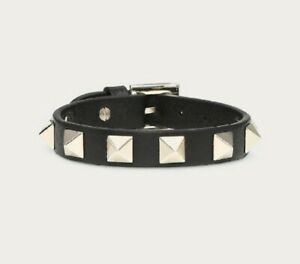 VALENTINO Garavani Rockstud Leather Braselet whit Gift Box