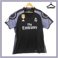 Real Madrid Football Shirt Adidas 2XL XXL Third Away Soccer Jersey 2016 2017 B79
