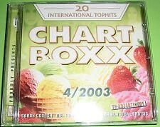 Chartboxx 4/2003 (CD) Sarah Connor, Bro'Sis, Die Toten Hosen, Ayu, Venice,...