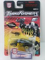 Transformers HOT SHOT Robots In Disguise RID Spy Changers Hasbro NOC 2001