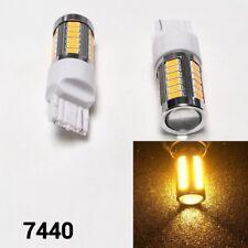 Reverse Backup Lights LED 33 Bulb Amber T20 w21w 7440 7441 992 B1 #12 For Ford