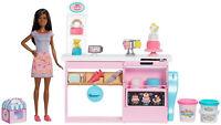 Barbie Cake Decorating Playset Kid Toy Gift