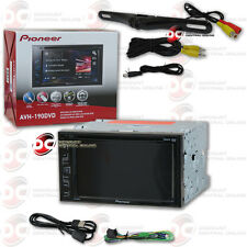 "Pioneer Avh-190Dvd 6.2"" Touchscreen Dvd Cd Car Stereo Free License Plate Camera"