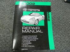 2002 Toyota MR2 Spyder Convertible Shop Service Repair Manual Book 1.8L