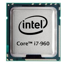 Intel Core i7-960 (4x 3.20GHz) SLBEU CPU Sockel 1366   #2741