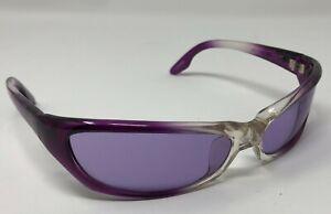 NEW Black Flys TSI TSI Fly Sunglasses Clear Purple Fade