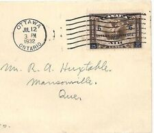 CANADA FDC 1932 6c *OTTAWA CONFERENCE* Ontario First Day Cover {samwells}AT175