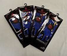 4 Zero Friction Men's Golf Gloves - Left Hand - One Size - Blue