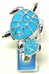 Bath & Body Works Sea Turtle w/ Baby Wallflowers Plug In Diffuser Night Light Up