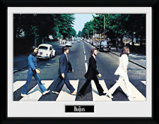 The Beatles Abbey Road - Mounted & Framed Print