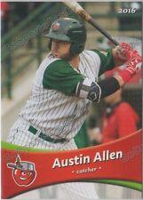 2016 Fort Wayne Tin Caps Austin Allen RC Rookie Padres Minor