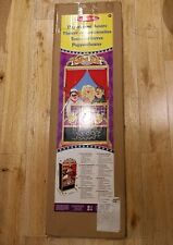 Melissa and Doug Puppet Time Theatre with multiple puppets - see description.