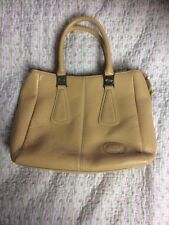 Luxurious TOD's Ladies Leather Handbag/ Grab Bag. Camel Colour-size M
