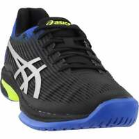 ASICS Solution Speed FF  Casual Tennis  Shoes - Black - Mens