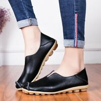 New Women's Casual Comfort Driving Moccasins Flats Loafers Slip on Shoes @
