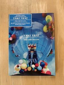 Take That The Circus Live Double Disc Limited Edition DVD 2009 New and Sealed