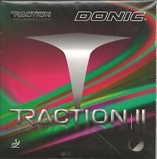 Donic Traction 2 Rubber (Black, 2.1 MM)