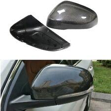 Carbon Fiber Side Rear-view Mirror Cover Casing Fit For Volvo S60 V60 V40 11-17