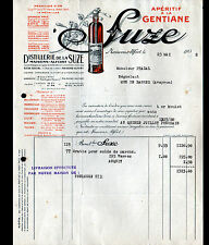 TOULOUSE (31) DISTILLERIE SUZE à la GENTIANE / Usine à MAISONS-ALFORT (94) 1932
