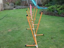 12 Pole Adjustable Weave By Jessejump Agility