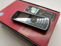 NrMint Boxed Working Rare Motorola W180 - Black (Unlocked) Mobile Phone