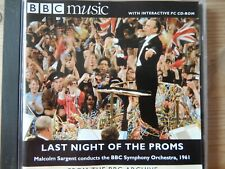 BBC Music Last Night of the Proms - BBC SO Malcolm Sargent (1961)