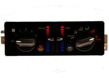 HVAC Control Panel ACDelco GM Original Equipment fits 01-03 Pontiac Grand Prix