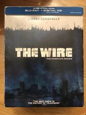 The Wire Complete Series Seasons 1-5 (Blu-ray Disc, 2015) HBO *No Digital