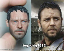 Custom 1/6 Scale Gladiator Russell Crowe Head Sculpt For Hot Toys ACI Body