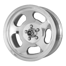 15x7 American Racing Vn69 Ansen Sprint Polished Wheel 5x45 0mm