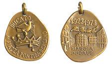 Medaglia Medal Ducato di Piazza Pontida Bergamo Marcia Ducale 1923 - 1973 #A122