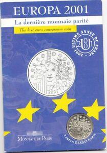 Coffret Europa argent 2001 MDP