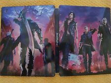 DEVIL MAY CRY V 5  STEELBOOK PS4 XBOX PC (NOT GAME)(SIN JUEGO)