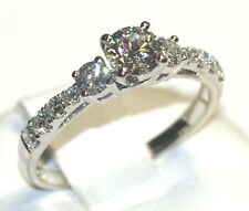 Diamond Ring in 18ct White Gold  - 0.96ct Total Carat Weight