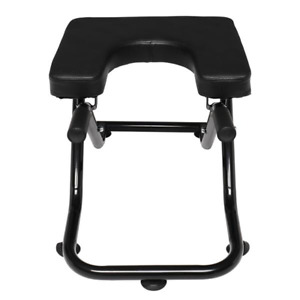 Folding Yoga Inversion Stool Black