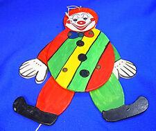 Old Vintage German Fretwork  Folk Art Jumping Jack Clown #AB8