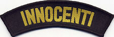 Innocenti Scooter Woven Badge Patch 35mm x 110mm UK Manufactured