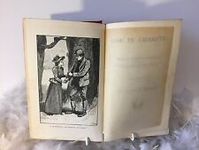 SALE: Antique book 'One in Charity' by Silas K Hocking illustrated G. Browne1893